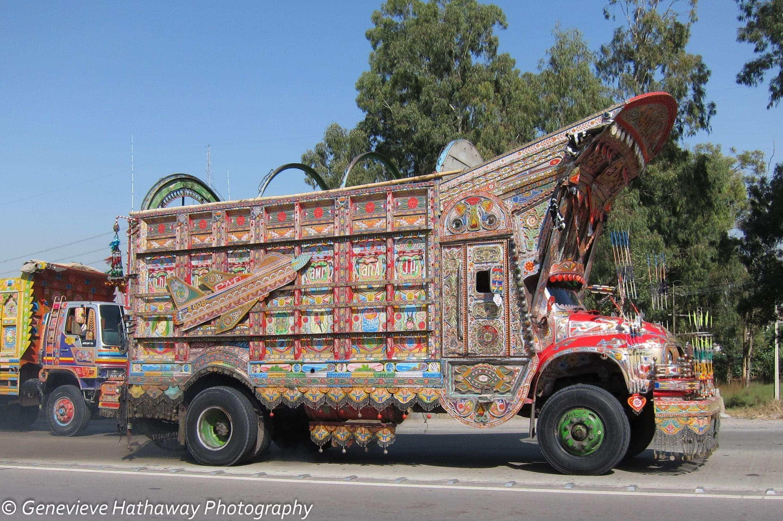 Pakistan's Colorful Trucks | Archaeoadventures: Women-Powered Travel